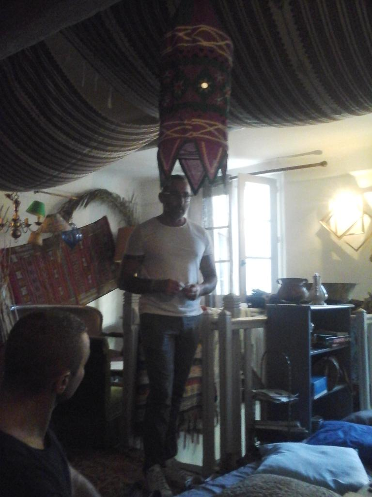 Café-Sexo n°1, au Chadao, 15 septembre 2016, notre hôte