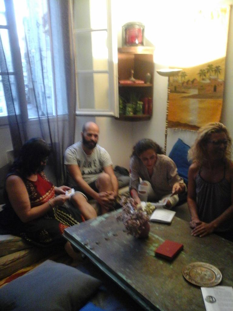 Café-Sexo n°1, au Chadao, 15 septembre 2016, participants