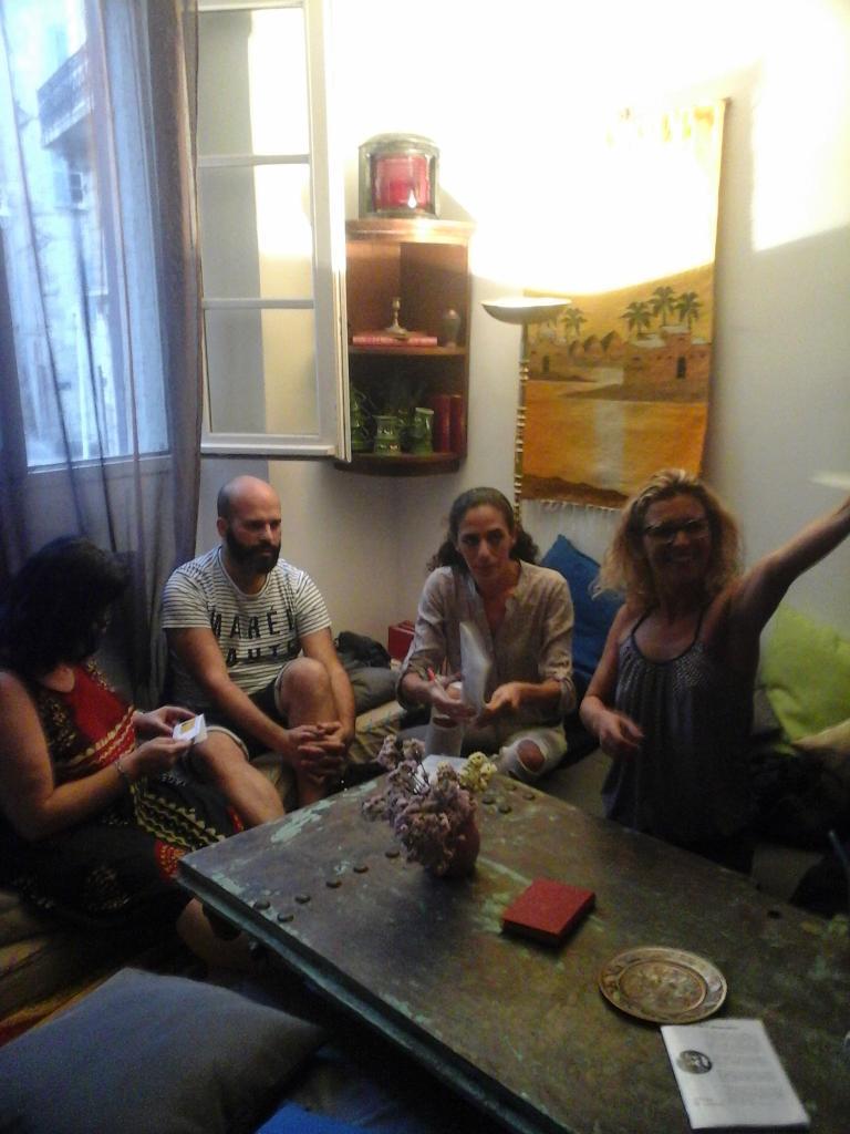 Café-Sexo n°1, au Chadao, 15 septembre 2016, quelques participants