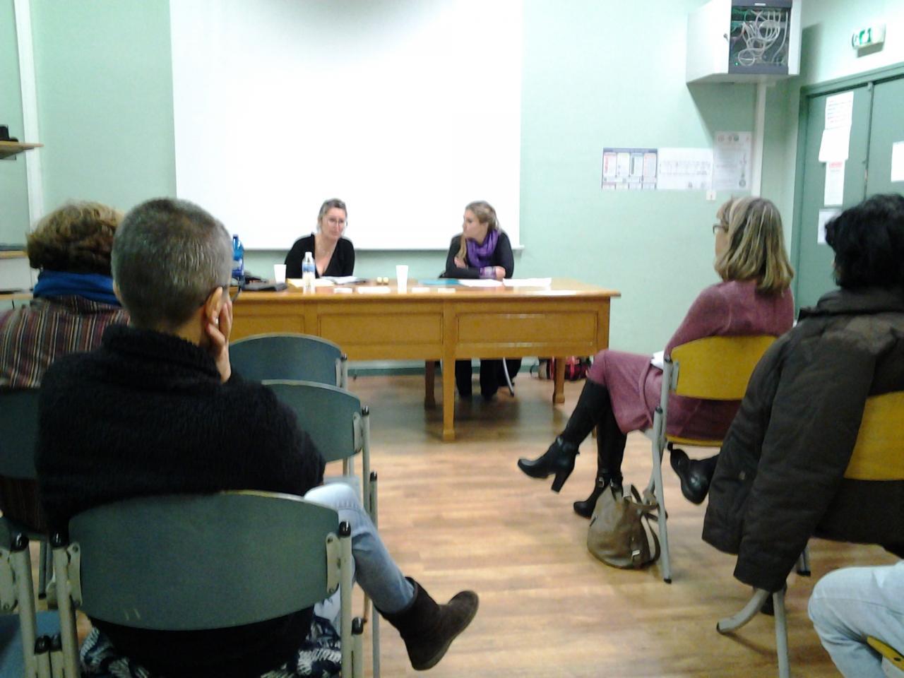 La salle du relais socio-culturel Peiresc.
