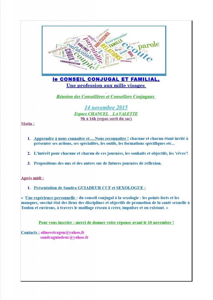 Affiche réunion CCF
