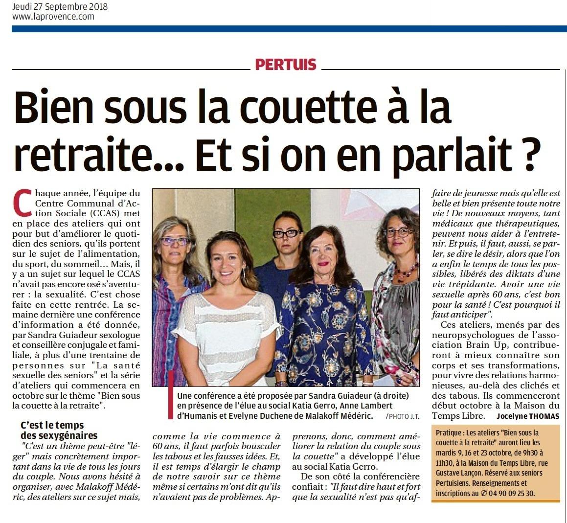 Article Pertuis - La Provence.com