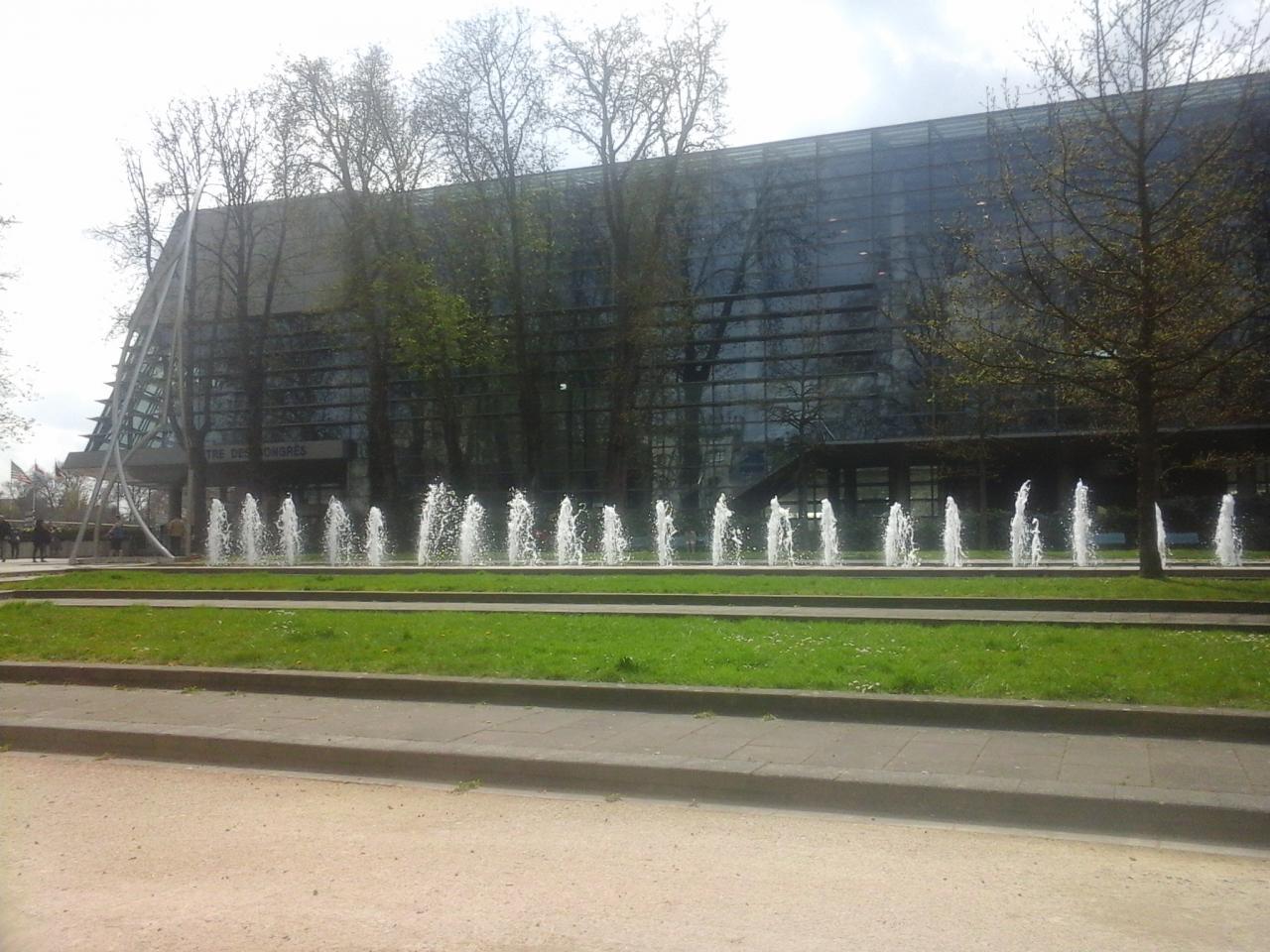 Bâtiment du centre des congrès de Reims