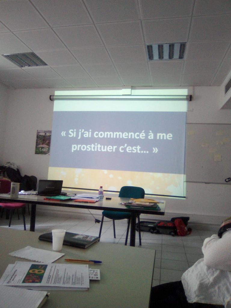Formation : Sensibilisation au phénomène prostitutionnel et à la traite des êtres humains.