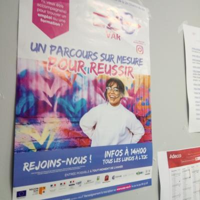Journée d'information sur la santé sexuelle, École de la deuxième chance, Draguignan.