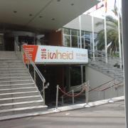 L'arrivée au palais des congrès