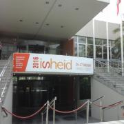 La banderole de l'ISHEID 2016