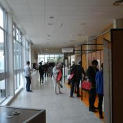Le hall d'accueil ISHEID