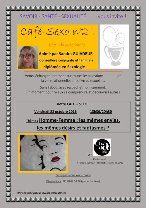 Affiche cafe sexo savoir sante sexualite n 2