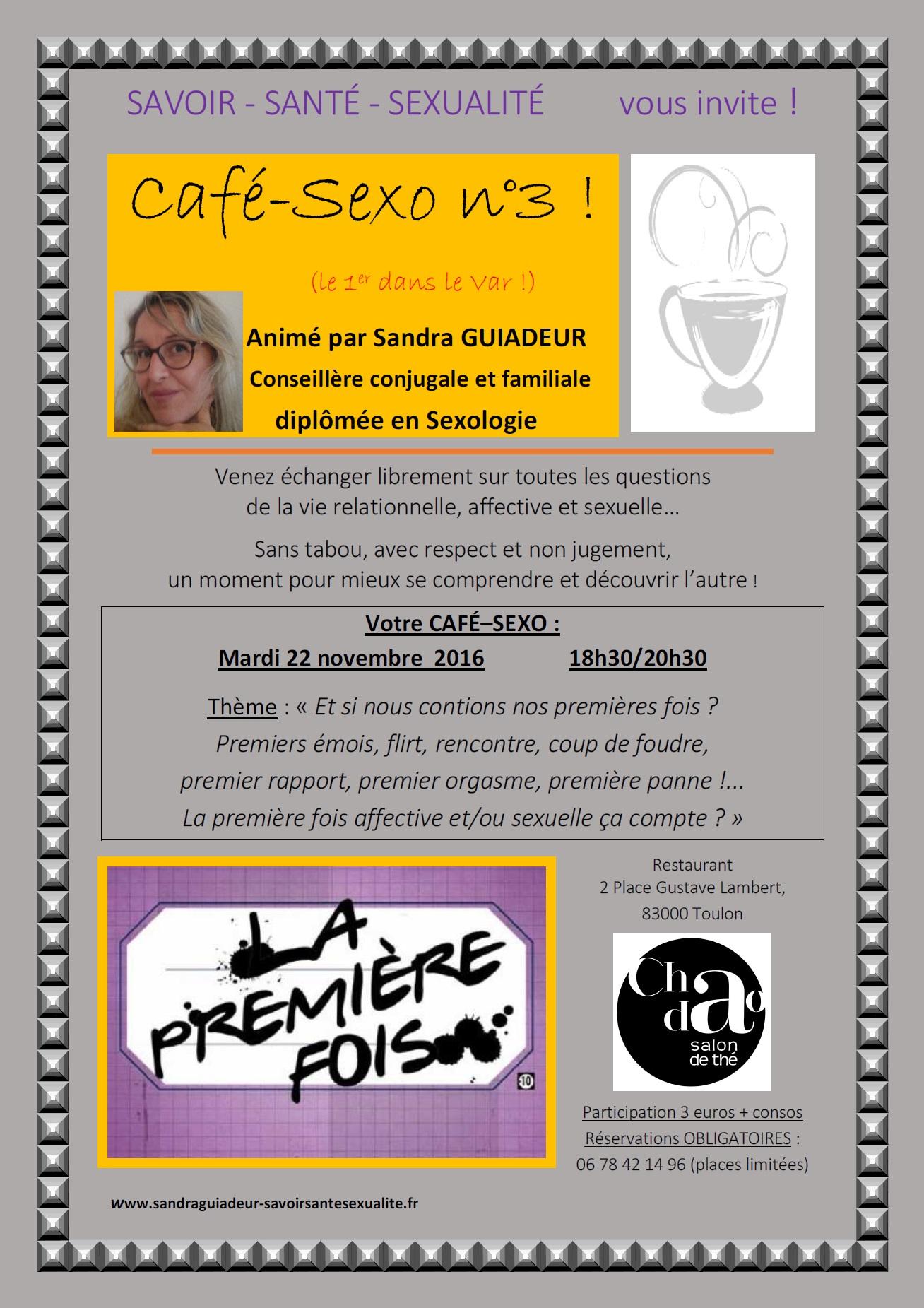 Affiche cafe sexo savoir sante sexualite n 3