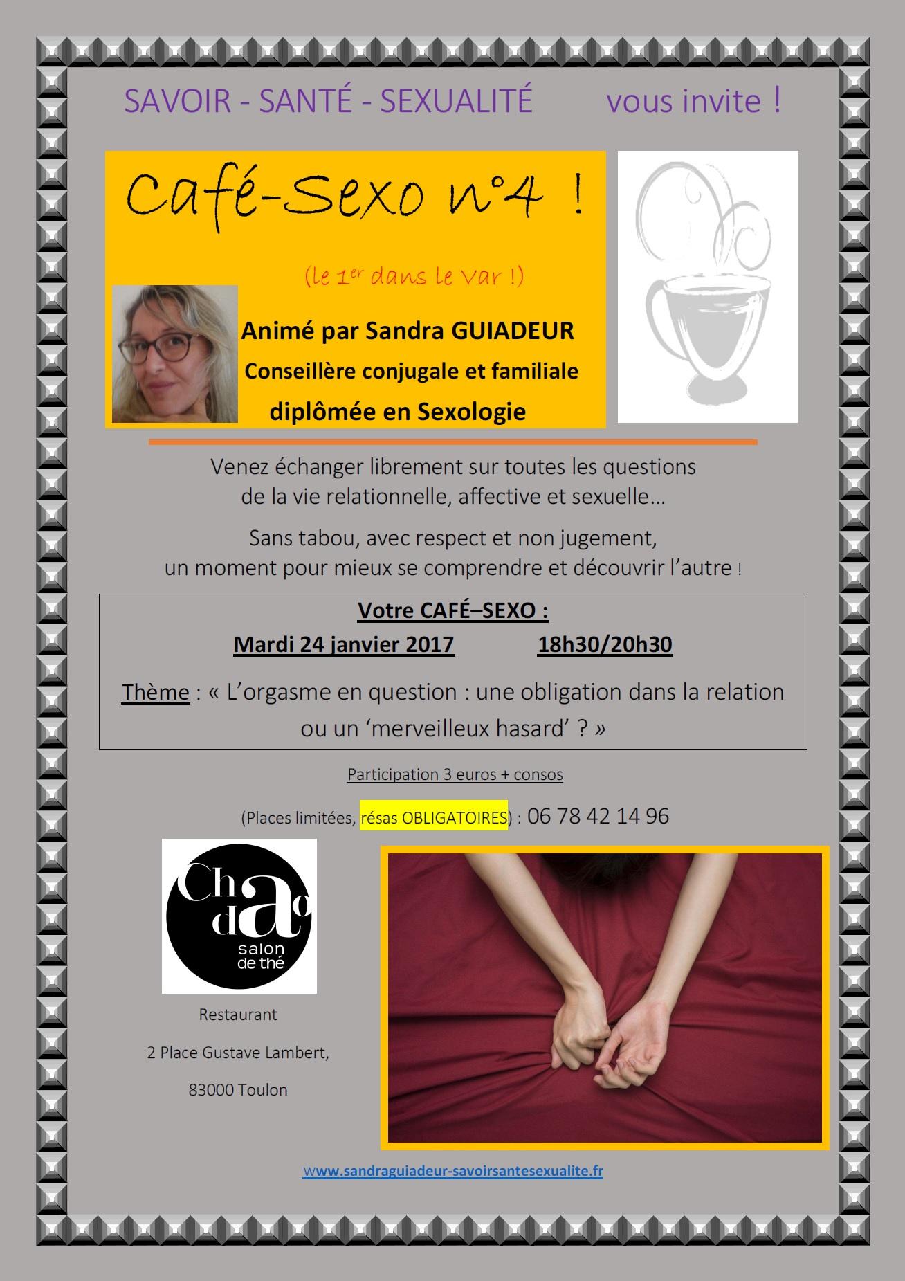 Affiche café-sexo savoir santé sexualité n°4