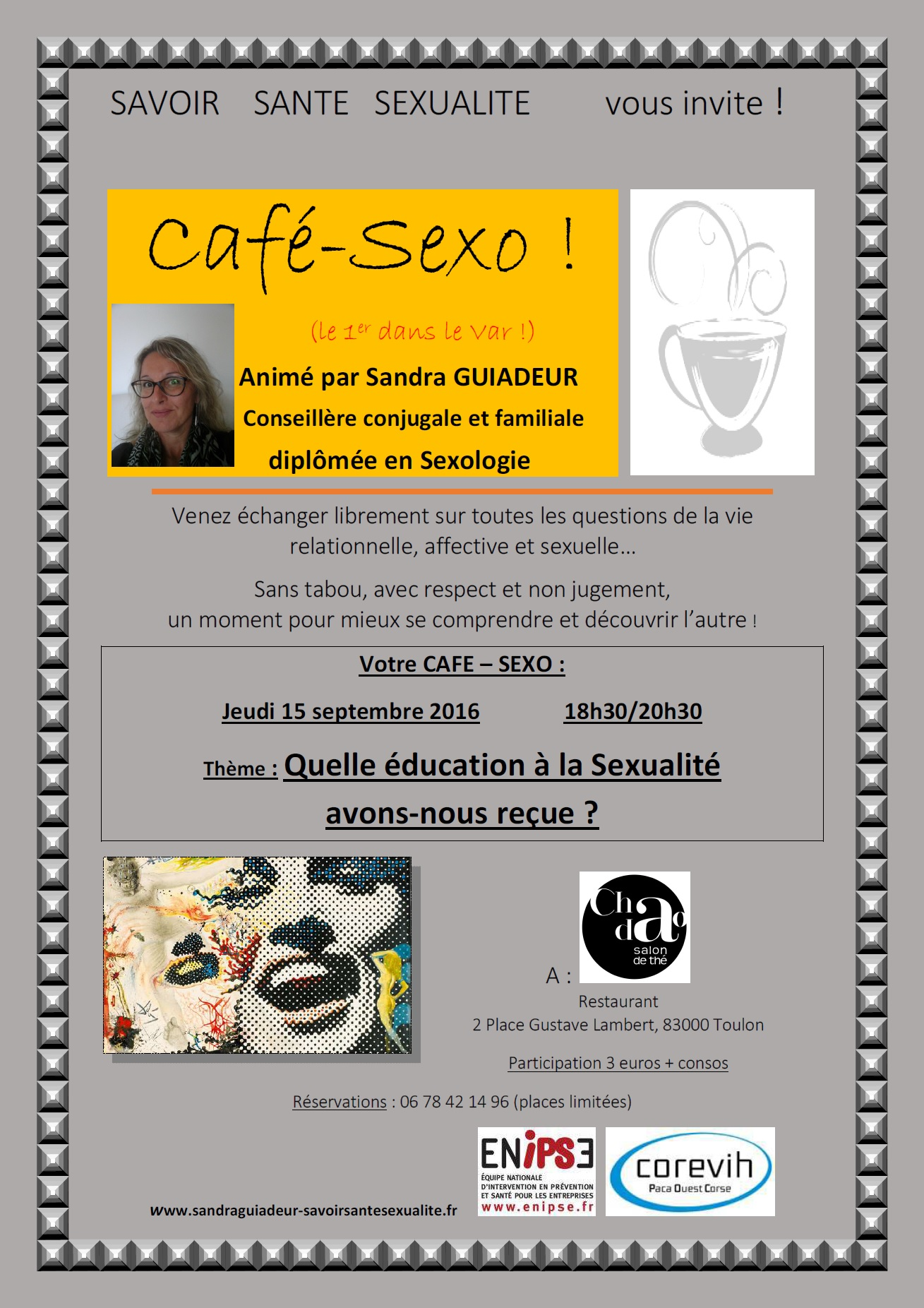 Affiche cafe sexo savoir sante sexualite 2016 09 15