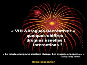 Drogues recreatives missonnier