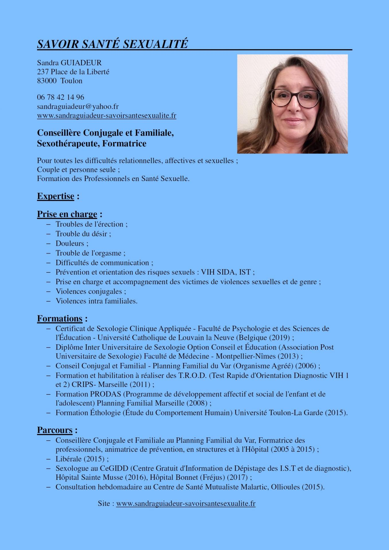 Plaquette conferences cv mini